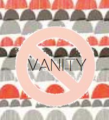 #Vanity I #BSMHB #BeStillMyHeartBlog I www.BeStillMyHeartBlog.wordpress.com